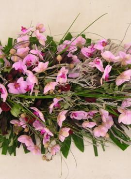rouwarrangement roze 41