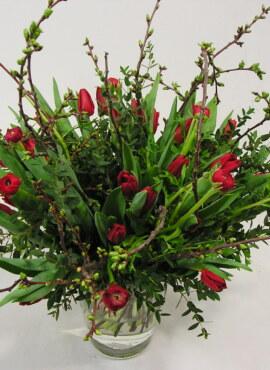 Valentijn ranonkel rood